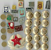 Rare Old LENIN Medal Badge COLD WAR Russia CCCP Coin Collection Great Lot E10