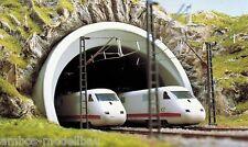 BUSCH 8195 Spur N, ICE-Tunnelportale, 2-gleisig, Neu