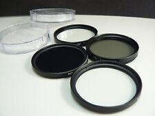 K4F BK 55mm Filter Lens UV PL Soft ND For Panasonic LUMIX DMC FZ70 FZ72 Camera