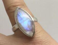 Moonstone Sterling Silver Moonstone Fine Rings