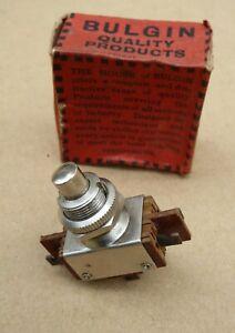 Vintage Bulgin  S419 press switch in box