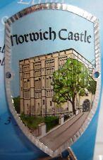 England Norwich Castle new badge mount stocknagel hiking medallion G9753