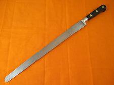 Sabatier 11.75 inch Carbon Steel Round Nose Slicer Knife
