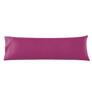 Body Pillowcase - Microfiber Pillowcase Body Pillow Size 20x54 Vivacious Magenta