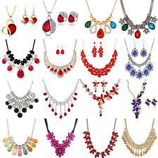 Diamond Crystal Rhinestone Choker Women Necklace Wedding Jewelry Gift Fashion