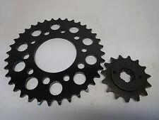 HONDA XBR 500 Ritzelsatz Ritzel Kettenrad ohne Kette Ritzelset Kettensatz 87-88