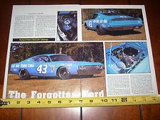 1969 Ford Talladega Richard Petty #43 Race Car - Original 1992 Article