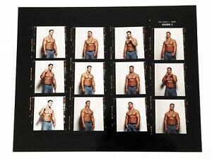 WWE RAW John Cena Wrestler RARE orignal contact sheet photo fro Mens Fitness