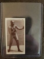 1938 Churchman's Cigarettes Jack Johnson