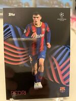 2020-21 TOPPS PEDRI RC UEFA KNOCKOUT BARCELONA SP SET ROOKIE CARD 42 PR: 9072