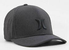 Hurley Kids' Boys' Youth Phantom Vapor 3.0 Fitted Hat Cap - Black (One Size)