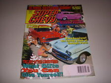 SUPER CHEVY Magazine, January, 1991, 500 HP CORVETTE BUILDUP, STREET FREAKS!