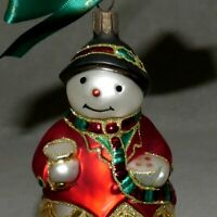 Christmas Ornament WATERFORD HEIRLOOMS SNOWMAN KILLEEN CLEM