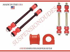 6PC Front/Rear Sway Bar Links Bushings 02-05 FORD EXPLORER MOUNTAINEER 27MM BAR