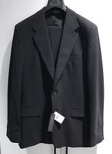 $875 Men's THEORY Black Stretch Wool Suit - Sz 42