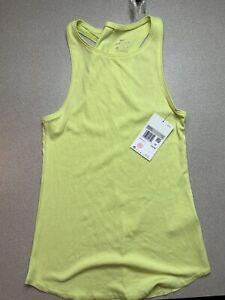 Nike Women's Dri-Fit Yoga Lux Tank Top Sleeveless Shirt Size XSCJ3810 $45