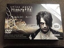 CRISS ANGEL MINDFREAK PLATINUM MAGIC KIT SET WITH DVD AWESOME MAGICIANS SET