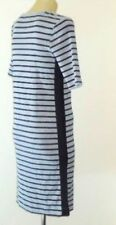Cotton Stripes Dresses for Women with Slimming