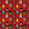 Marvel Avengers Red Comics Camelot Quilt Fabric by the yard