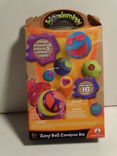 Wonderology Zany Hi bounce ball science creation kit NEW make up to 16 balls