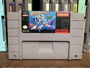 Mega Man X Super Nintendo Snes Tested Authentic FAST SHIPPER