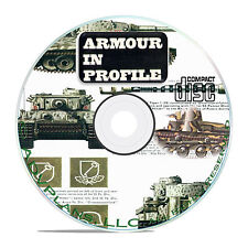 Profile Publications Armour in Profile -24 Volume- Military Tank Magazine CD B56