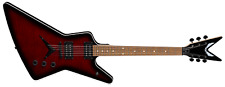 Dean Model ZX FM TRD Flame Top Transparent Red Z Style Electric Guitar