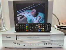 VIDEOREGISTRATORE VHS FUNAI 29A-250 4 TESTINE PERFETTO IN TUTTO + TELECOMANDO!!