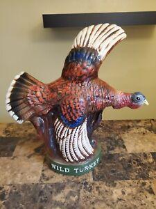 VERY RARE Wild Turkey Series1 No. 3 Backbar STATUE (Not Decanter) 1974