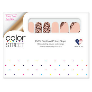 Color Street Trend Spotted Leopard Cheetah Unicorn VHTF Retired Rare Nail Strips