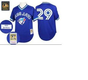 Authentic Mitchell & Ness Toronto Blue Jays #29 Baseball Jersey New Mens $90