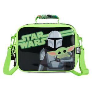 Disney Store Star Wars The Mandalorian Child Baby Yoda Grogu Lunch Tote Bag