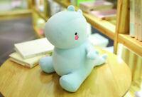 Blue Dinosaur Stuffed Animal Dinosaur Cartoon Plush Soft Doll Toy For Kid 30cm