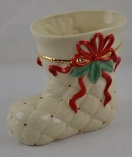 Lenox Boot Vase Nwt Arranged for the Holidays Stocking