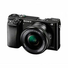 Cámaras digitales Sony Alpha a6000 negra