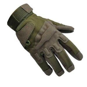 MilitaryTaktische Airsoft Jagd CS Schießen Motorrad Armee Handschuh Fitness L XL