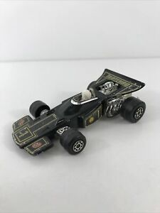 1971 Matchbox Lesney SpeedKings K34 Formula 1 Race Car Lotus JPS Thunderclap