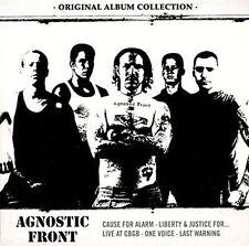 AGNOSTIC FRONT - ORIGINAL ALBUM COLLECTION: DISCOVERING AGNOSTIC FRONT NEW CD