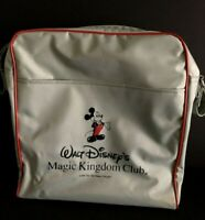 Vintage 1987 Walt Disney's Magic Kingdom Club Mickey Mouse Travel Bag Tote