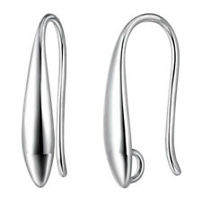 Authentic 100% 925 Sterling Silver Jewelry Hook Earring For Women DIY Components