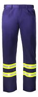Flame Resistant FR Hi Visibility Hi Vis Pant / Trouser - 88/12 - Flex fit Waist