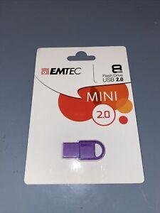 USB stick Drive 8gb EMTEC d250 mini (Purple) Purple #18828