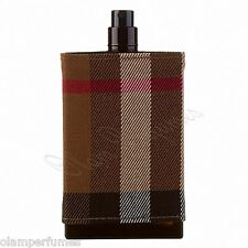 Burberry London For Men Eau de Toilette Spray 3.4oz 100ml Tester * New in Box