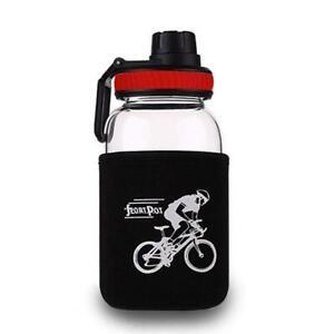 Sports Water Bottle 700ml Portable Gym Travel Clear Leakproof Drinking Bottles