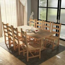 Kitchen Rectangular Table & Chair Sets with 8 Seats