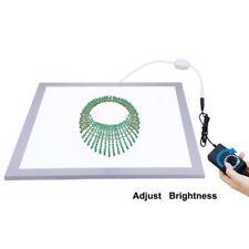 LED Lamp Board Photography Shadowless Bottom Light Panel Softbox Photo Studio