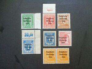 Briefmarken - All. Bes. SOWJETISCHE ZONE - 1948