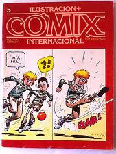 Comic Ilustración Comix Internacional, nº 5
