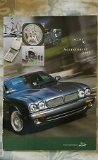 Jaguar XJ Accessories 2002 US Market Sales Brochure JLM 3672/USA/09/2001