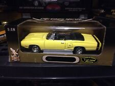 "YAT MING 1970 DODGE CORONET YELLOW /BLACK """" 1/1250 1/18 :DIECAST  #25480"